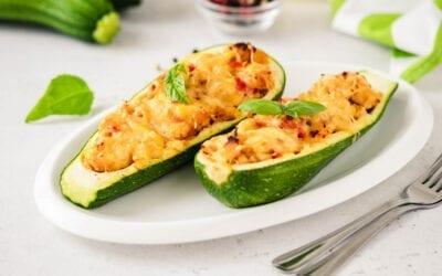 Bolognese Stuffed Zucchinis