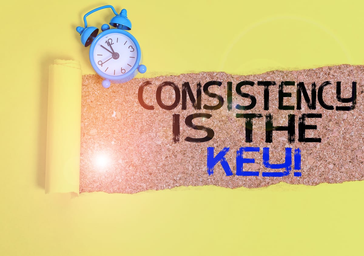 40 tips on health and fitness Consistency is key