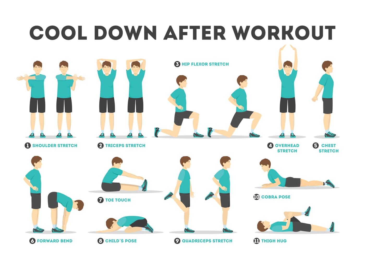 Flexibility Training Cool down