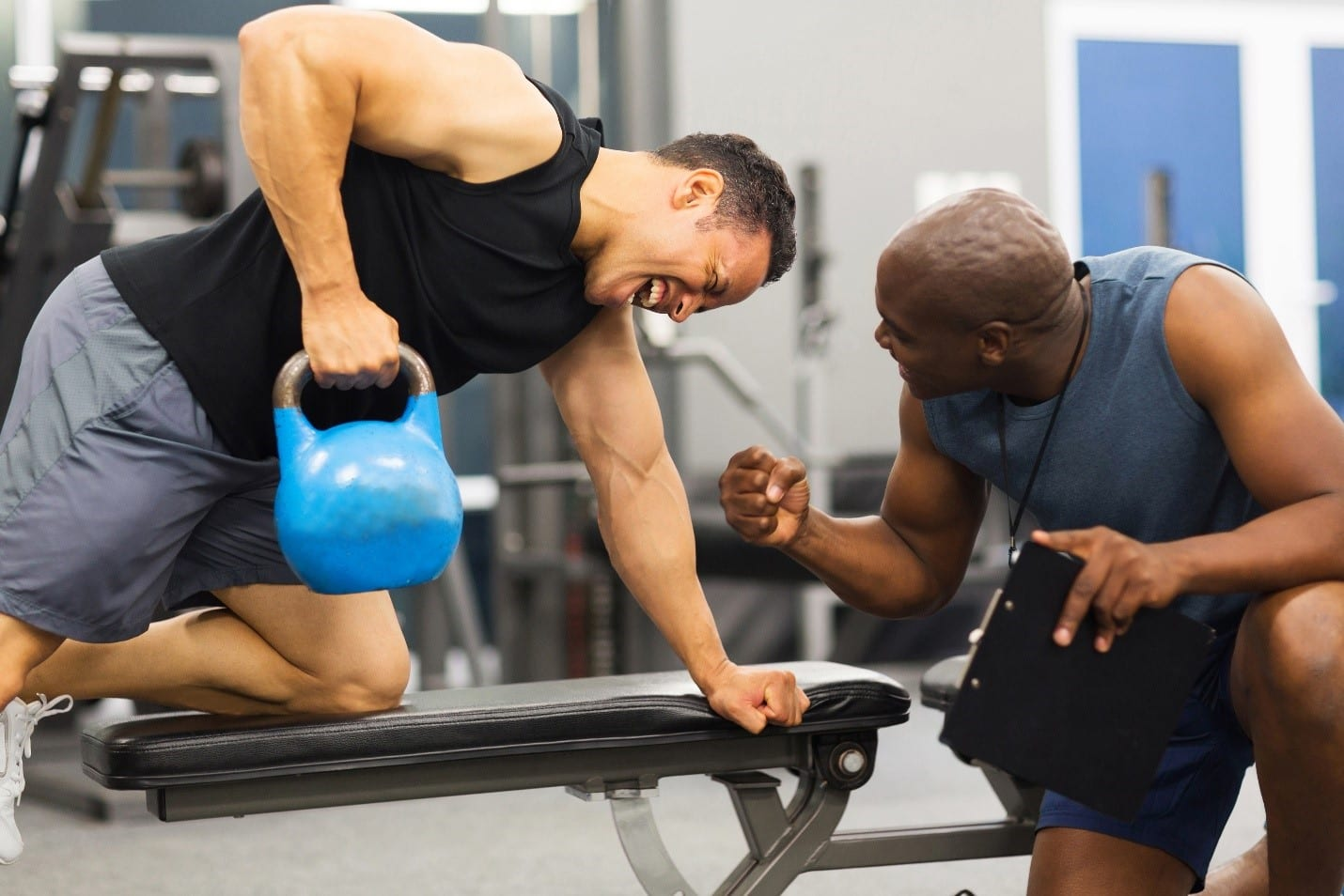 40 tips on health and fitness Hire a gym instructor