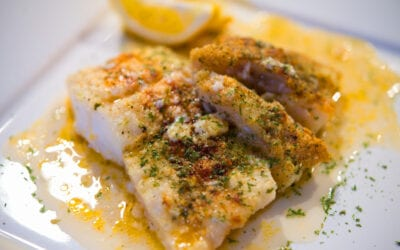 Keto Buttered Cod