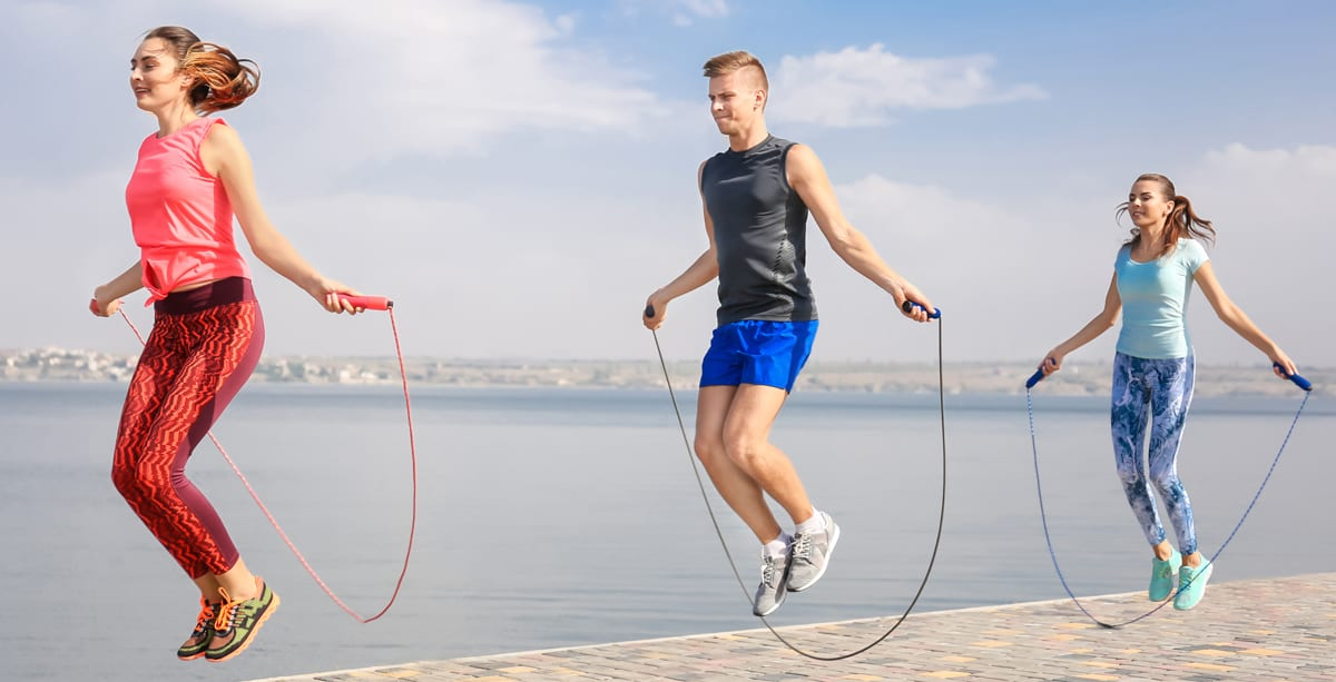 40 tips on health and fitness Practice skipping often