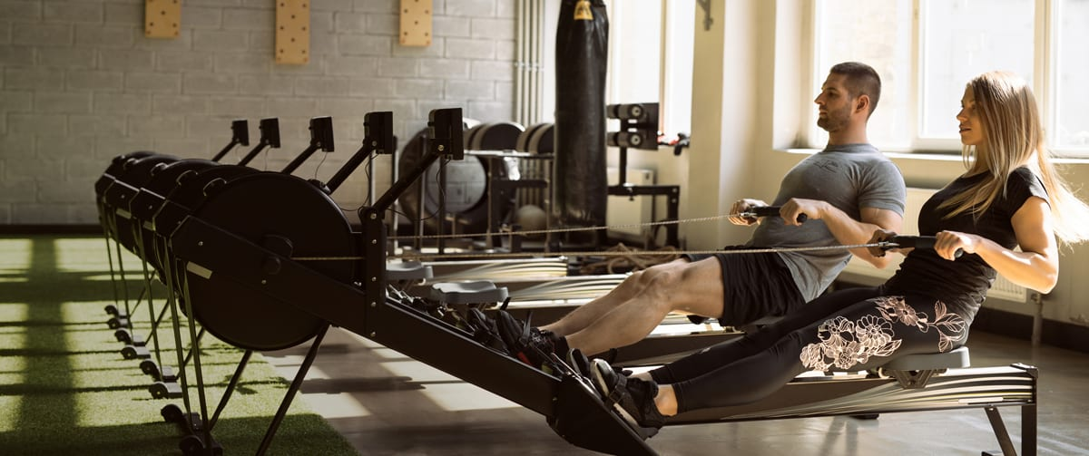 Rowing Machine-Workout 2 people