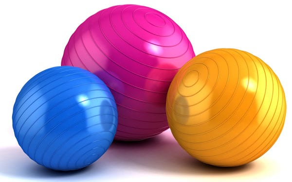 Best Exercise Ball Review Multiple