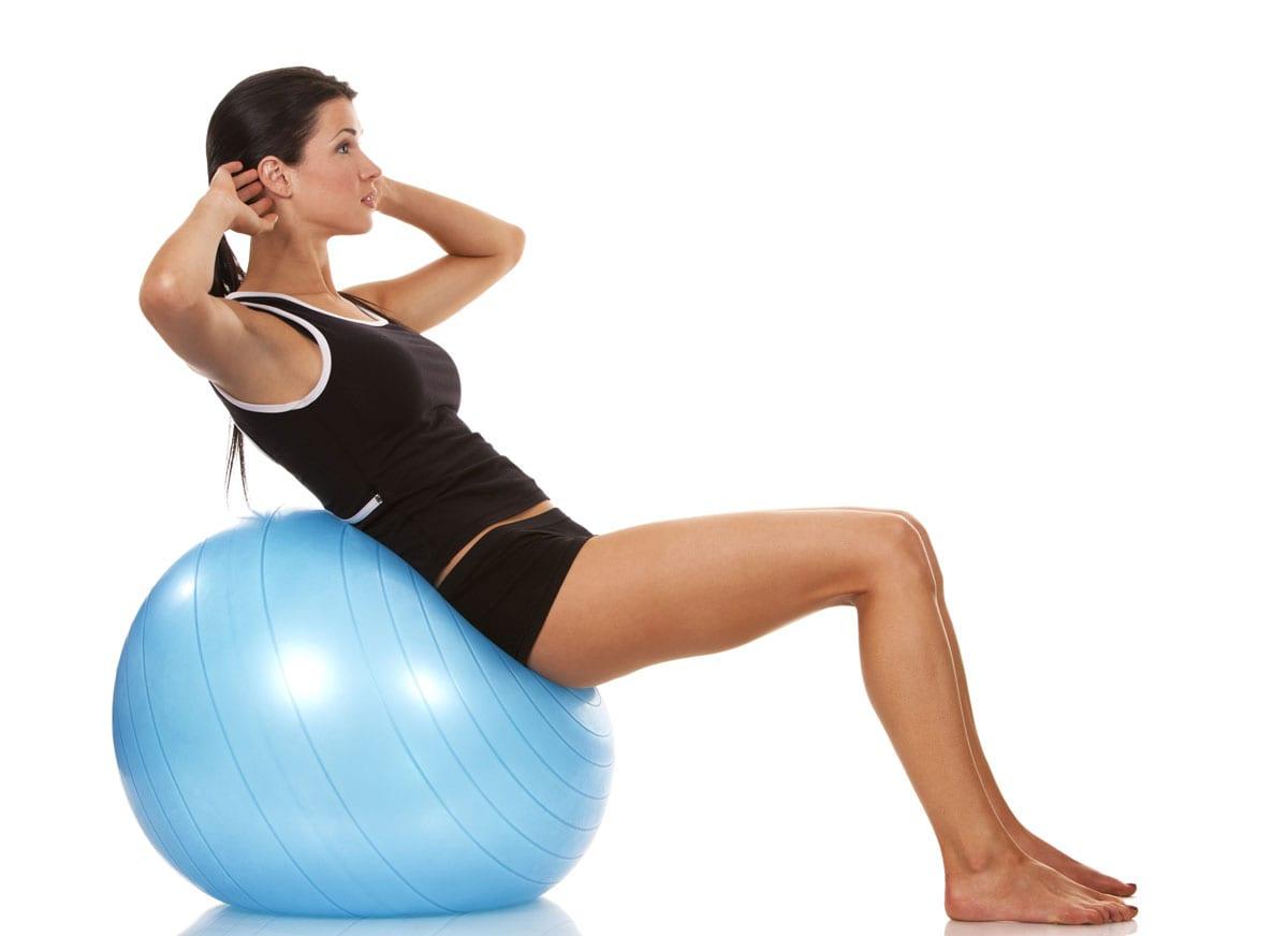Best Exercise Balls Crunch