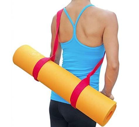 Clever Yoga Yoga Strap Back
