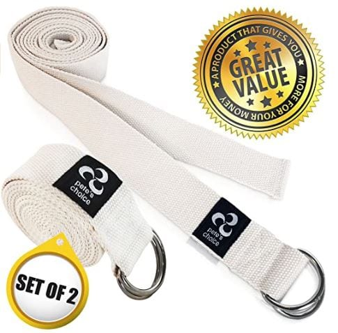 Pete's Choice Yoga Straps