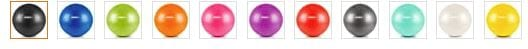 URBNFit Exercise Ball Colors