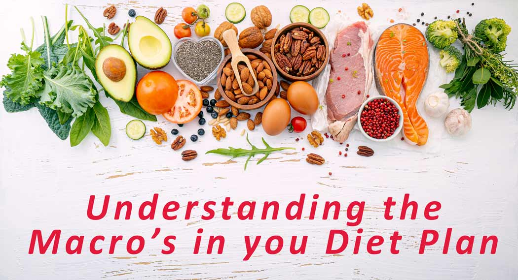 Understanding the Macros in your diet